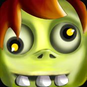iZombie - Halloween in the graveyard zombie road