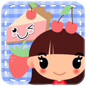 A Cute Kawaii Style Kids Photobooth Camera Chibi Sticker Maker + Fun for Girls Boys and Family