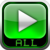 AVI, FLV, WMA, RMVB, MPEG, MP4 Player HD player for flv