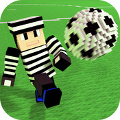 Cops N Robbs Soccer 3D with skin exporter for minecraft