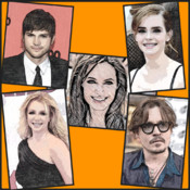 The Celebrity Icon Quiz - Trivia quiz 4 celebs,actor,Icon,Pop,Rock,Star Celebs like Justin Bieber,Miley Cyrus,Ben Affleck,Jennifer Aniston,Katy Perry,Rihanna,Beyonce,Jackie Chan,Taylor Swift,Ashton Kutcher,Justin Timberlake,Kim Kardashian and many more.