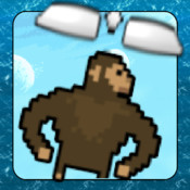 Crazy Gorilla With Flying Wings Paid