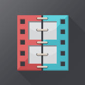 Merge Video + Combine and Mix Movie Clips & Slideshows Together for Vine and Instagram avi splitter movie video