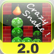 a Crazy Snake ! - In the Fruit Garden ! - Touch to Play ! fruit touch