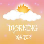 Good Morning Image Maker - Tap To Open Image Maker