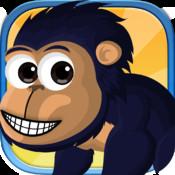 Super Jump Monkey Run - World Zoo Jungle Tap n Bounce Edition