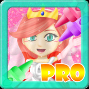 My Princess Wedding Coloring Book PRO! - Paint, Color, and Draw Frozen Fairy Tail Magic for Girls