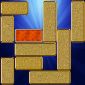 Unblock It Plus - Who can rescue the gold block and help it escape?