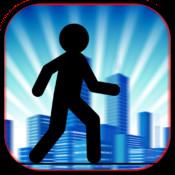 Stickman Sketch Guru Run - Street Jump and Run Game PRO run application