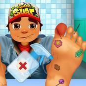 Boy Foot Surgery subway surfers