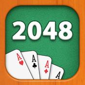 2048 Ace Cards Puzzle
