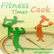 Fitness & Cooking Timer secondary program