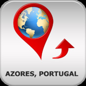 Azores, Portugal Travel Map - Offline OSM Soft