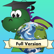 Geo Touch: Geography Game to Learn the US State Maps, Capitals and Countries of the World Full Version