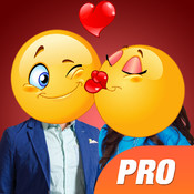 Pimp My Emoji PRO - Try Emoji> Mask on your Face with Cool Emoji Face Stickers emoji