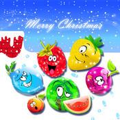 Christmas Fruits Crush Free crush fight fruits
