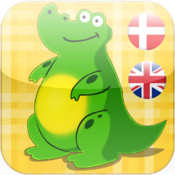 Kid Dyr : Danish - English Animals And Tools for Babies Free,Kids learn the world of cute animals by Touching Images and Listen to the Sounds of Animal or Tool