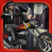 Super Chopper Rider - Fast Motorcycle Racing Game