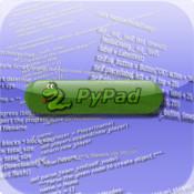 PyPad python not monty