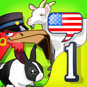 English for kids 1: Animal ABC by Mingoville – includes fun language learning games and activities for children