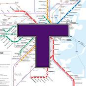 MBTA Boston T Map -- Ad Free