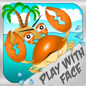 Eye Jumper HD - motion control crab jump - run from hungry sharks, mega jelly fish, happy sea stars and fall out of water