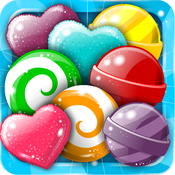 ``` A Soda Candy Twist``` - Fun Match 3 Rumble Of Rainbow Puzzle`s For Kids FREE