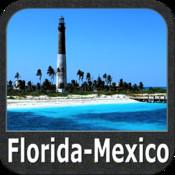 Marine: Florida to Mexico - GPS Map Navigator