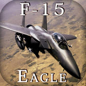 Boeing F-15 Strike Eagle - Combat Flight Simulator of Infinite Airplane Hunter iphone ipod