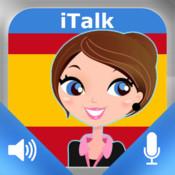 iTalk Испанский! Разговорный: записать и воспроизвести, научитесь говорить быстро, слова, выражения и тесты для носителей Русского языка