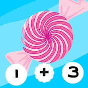 123 Candy Calculate! Mathematics Game for Small Children
