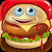 Burger Maker - Fast Food Cooking Game for Boys and Girls