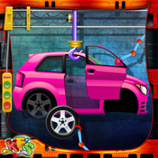 Car Factory – Build auto vehicle in this mechanic garage game for little kids