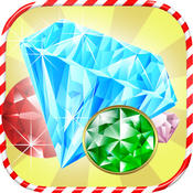 3D Candy Gem Blitz - Crush 3 jewels to match