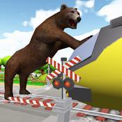 Bear On The Run Simulator bear screensaver