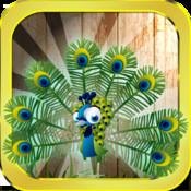Peaky Peacock Flying Bird - Free 3d Game