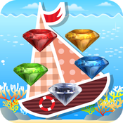 Sea Diamond - Crazy diamond stars pop crush game