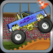 Monster trucks Xtreme Hill Climb - Offroad Nitro Car Speed Racing hill climb racing