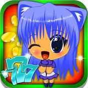 Anime Manga Slots : World best casino otaku style game with big daily coins and wins bonus