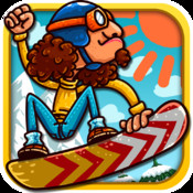 Fun Snowboard Race for iPhone - Multiplayer Game fun run multiplayer race