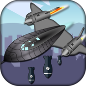 STEALTH BOMBER BLOW UP ATTACK - FUTURISTIC BUILDING BUSTER MANIA FREE