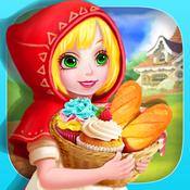Little Red Riding Hood`s Bakery Story - Cupcake Maker Salon Game