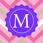 Monogram Pro - Customize Design Beautiful Home Screen & Lock Screen Background Wallpaper virtual screen
