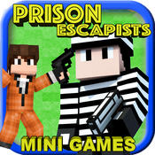 PRISON ESCAPISTS ( COPS & ROBBERS Edition ) - Shooter Survival Block Mini Game with Multiplayer pocket edition