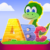Dino Learns ABCs, Animals & Geometrical Shapes-Free Preschool Game Lite