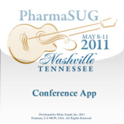PharmaSUG 2011 App