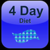 4 Day Diet App:The 4 Day Diet plan encourages diet variety and exercise to help with weight loss+ longevity diet