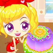 Baby Cake Creations : Fruit Chocolate Cake Cooking & Decorate