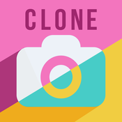 Clone Camera - Best picture editor and blender. Awesome twin selfie mirror app. pic clone yourself