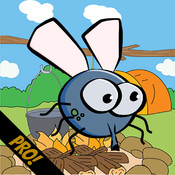 Flappy Fly Pro - An Endless Tap Screen Flyer Game - A Fly that Swoops and Flys like a Bird